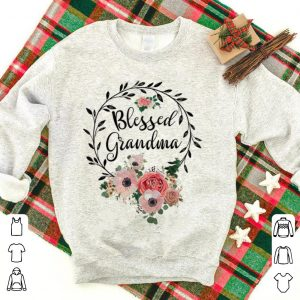 Blessed Grandma with floral shirt