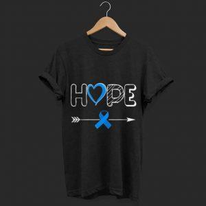 Hope Blue Ribbon Awareness shirt