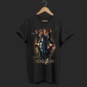 Marvel Avenger Endgame Black Widow shirt