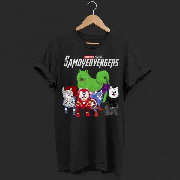 Marvel Avengers Samoyed Samoyedvengers shirt
