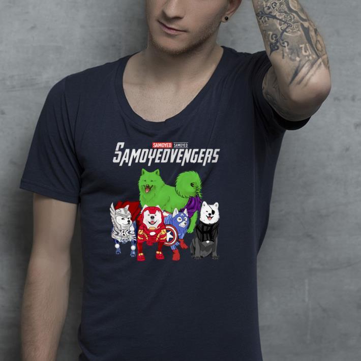 Marvel Avengers Samoyed Samoyedvengers shirt 4 - Marvel Avengers Samoyed Samoyedvengers shirt