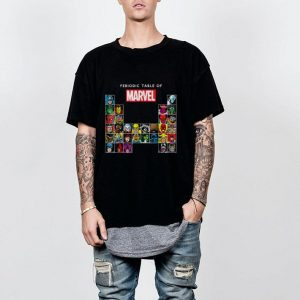 Marvel Periodic Table Of Heroes & Villains shirt