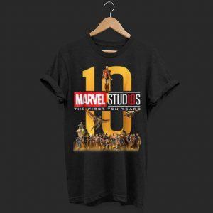 Marvel Studios First Ten Years Full Cast shirt