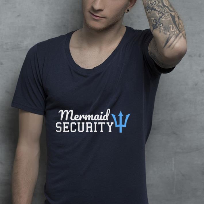 b1fa66b93d5 Mermaid Security Lifeguard shirt