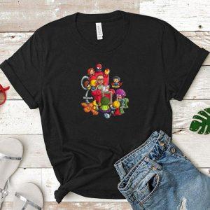 Stan Lee Marvel and Superhero Chibi Renography shirt