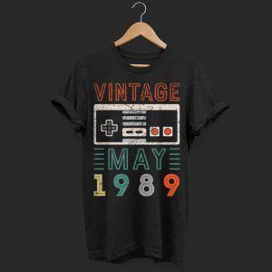 Vintage may 1989 nitendo 620 shirt