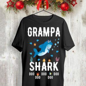 Father Day Grampa Shark Doo Doo Doo shirt
