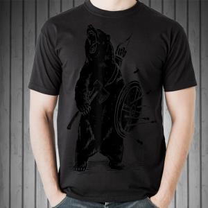Viking Grizzly Bear Warrior shirt
