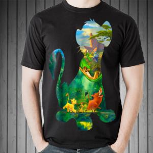 Disney Lion King Simba Silhouette shirt