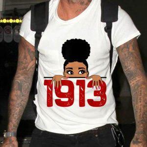 Delta Sorority DST 1913 Sigma Theta Paraphernal shirt