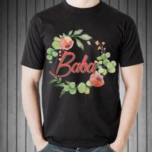 Father day Baba Grandma Floral shirt