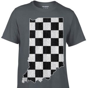 Indiana Race Checked Flag shirt