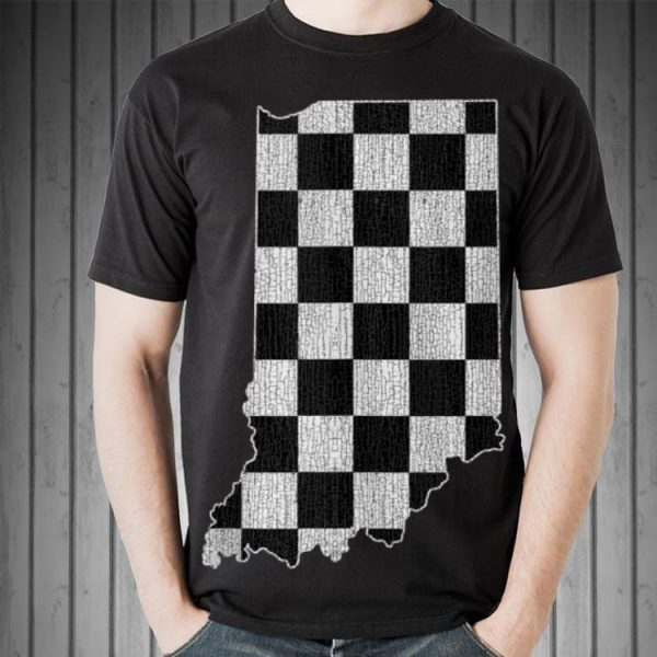 Indiana Race Checked Flag shirt