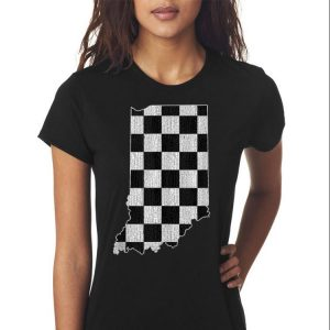 Indiana Race Checked Flag shirt 2