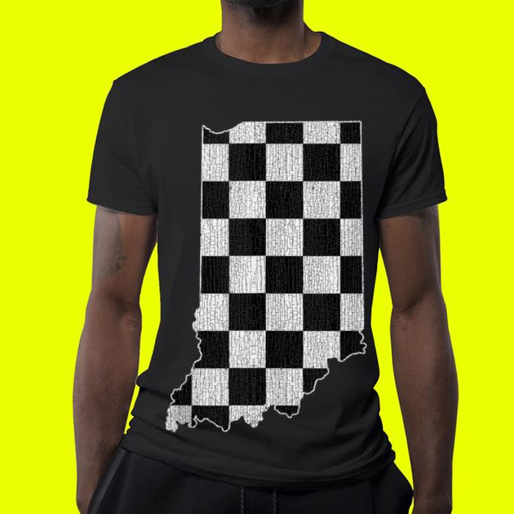 Indiana Race Checked Flag shirt 4 - Indiana Race Checked Flag shirt
