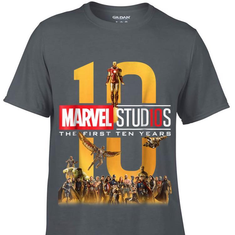 Marvel Studios First Ten Years Full Shirt Hoodie Sweater