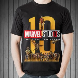 Marvel Studios First Ten Years Full shirt