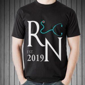 New RN Nurse Est 2019 shirt