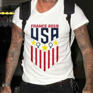 USA Soccer Female symbol France 2019 shirt