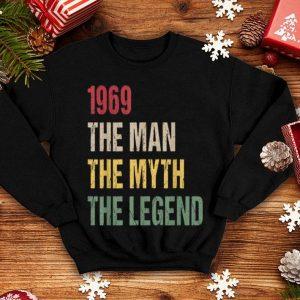 1969 50th Birthday 1969 The Man The Myth The Legend shirt