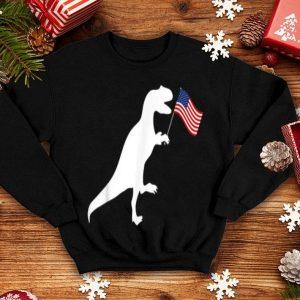 4th Of July Dinosaur USA Flag shirt