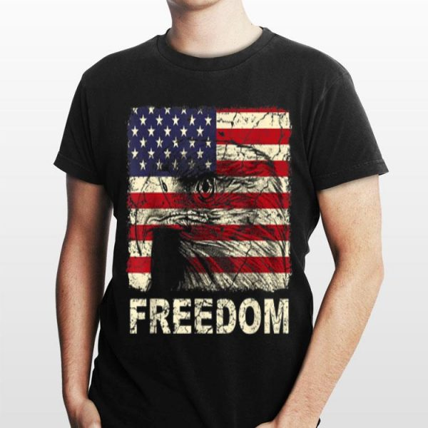 4th Of July Patriotic Freedom Usa Bald Eagle shirt
