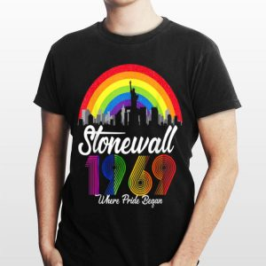 50th Nyc Gay Where Pride Began Lbgt 90's Style Stonewall shirt