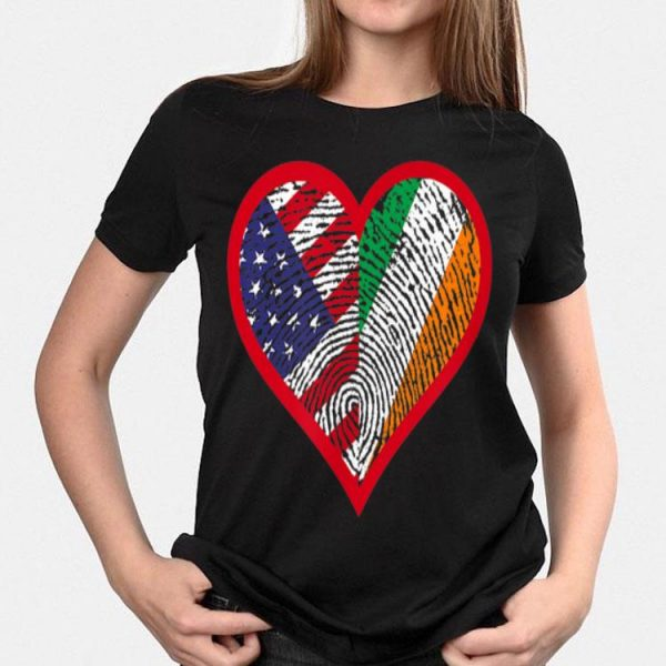 America And Ireland Two Countries One Heart shirt