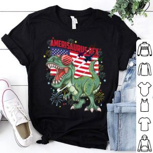 Amerisaurus Rex T-Rex 4th of July Dinosaur American Flag