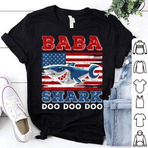 Babahark Doo Doo Doo American Flag shirt