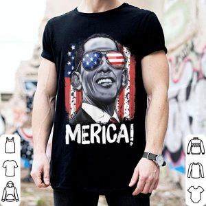Barack Obama 4th of July 44th President American Flag shirt