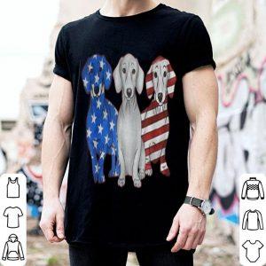 Dachshund American flag 4th of july shirt