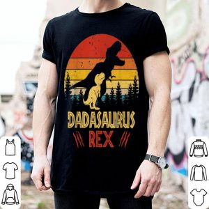 Dadasaurus Rex Vintage Retro Father Day shirt