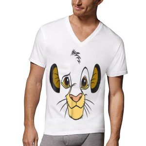 Disney Lion King Simba Face Halloween shirt