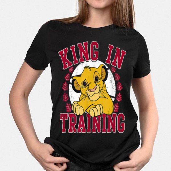 Disney Lion King Simba King In Training shirt
