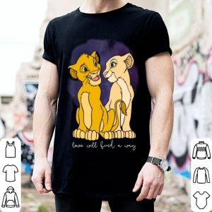 Disney Lion King Simba Nala Love Valentine's shirt