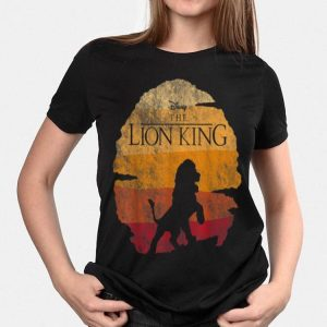 Disney Lion King Simba Sunset Heat Wave shirt