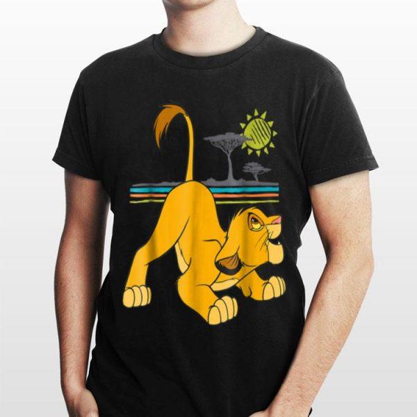 Disney The Lion King Young Simba Crouching shirt