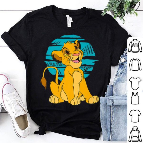 Disney The Lion King Young Simba Happy Retro shirt