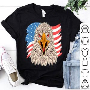 Eagle Merica 4th of July American Flag shirt