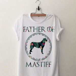 Father Of Mastiff Floral shirt