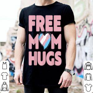 Free Mom Hugs Rainbow Gray Pride Lgbt shirt