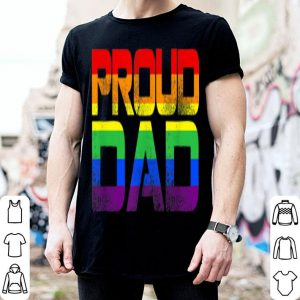 Gay Pride Proud Dad Lgbt Parent shirt