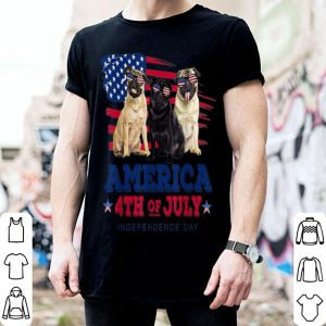 Independence Day Pug shirt