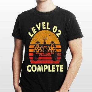 Level 2 Complete Vintage Video Game Day shirt