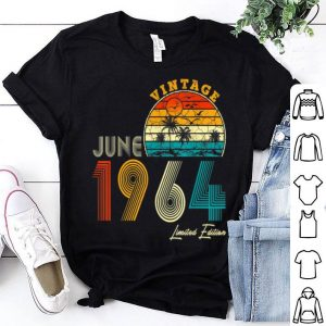 Made in June 1964 Vintage 55th Birthday 55 year shirt