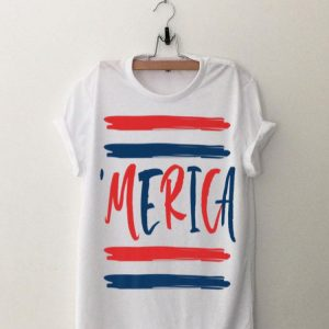 Merica USA American Flag Patriotic 4th of July Flag Day Premium shirt