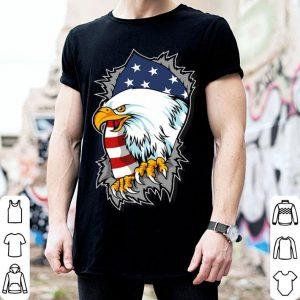 Patriotic Eagle 4th Of July Inspired American Flag shirt