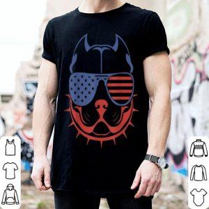 Patriotic Pet American Sunglasses Dog shirt