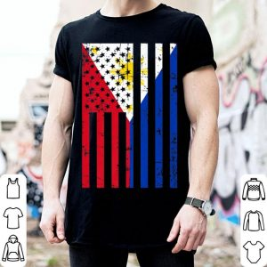 Philippines American Flag for New US Citizen shirt
